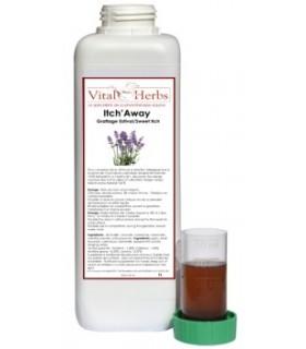 VITAL HERBS Itch Away Liquid – Płyn redukujący świąd 1 l