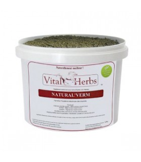 VITAL HERBS Natural Verm – Środek do odrobaczania w postaci granulatu 1 kg
