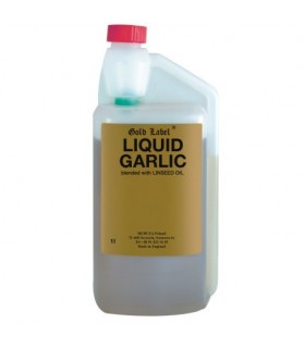 GOLD LABEL Liquid Garlic- czosnek w płynie 1 l