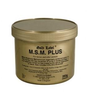 GOLD LABEL MSM Plus- preparat wzmacniający stawy 250 g