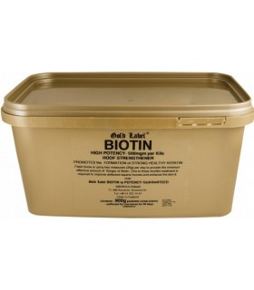 GOLD LABEL Biotin- biotyna 900 g