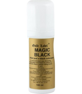 GOLD LABEL Magic Black- preparat do barwienia skór 100 ml