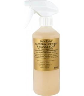 GOLD LABEL Glycerin Saddle Soap Spray 500 ml