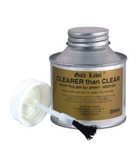GOLD LABEL Clearer Than Clear- lakier do kopyt 250 ml