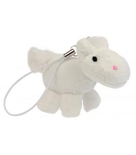 HAPPY ROSS Konik pluszowy mini biały