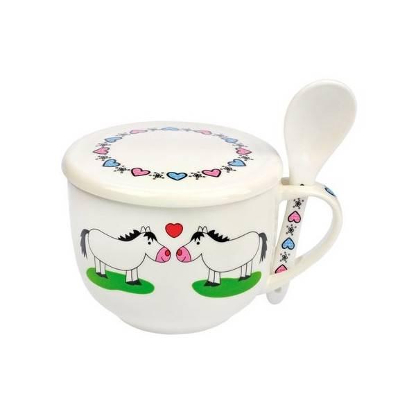 HAPPY ROSS Miska do zupy z konikami