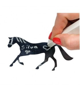 HAPPY ROSS Naklejki do pisania z końmi czarne