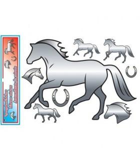 HAPPY ROSS Naklejki lustrzane z końmi