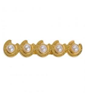 HAPPY ROSS Spinka podkowy z perłami